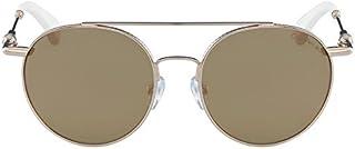 Calvin Klein Jeans Unisex Round Metal Sunglasses