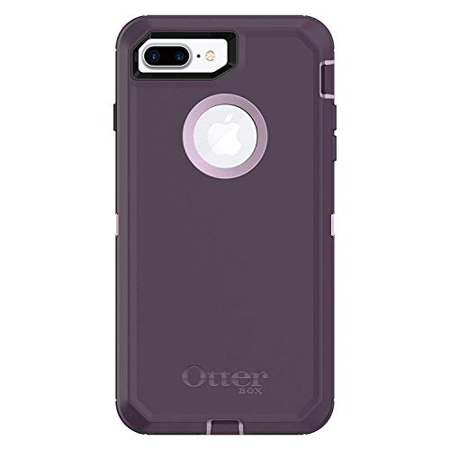 OtterBox Rugged Protection Defender Case for iPhone 8 Plus and iPhone 7 Plus (Only), Case Only - Bulk Packaging - Purple Nebula