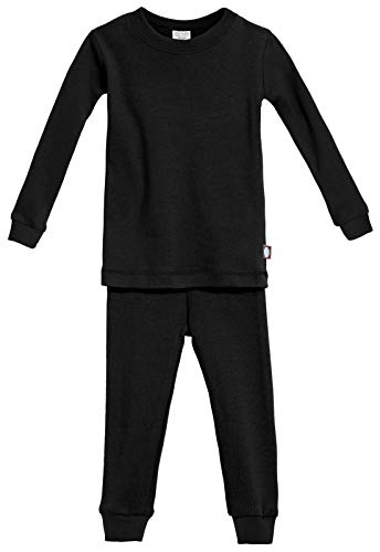 City Threads Certified Organic Thermal Pajama Set, Big Boys and Girls for Sensitive Skin/SPD/Sensory...