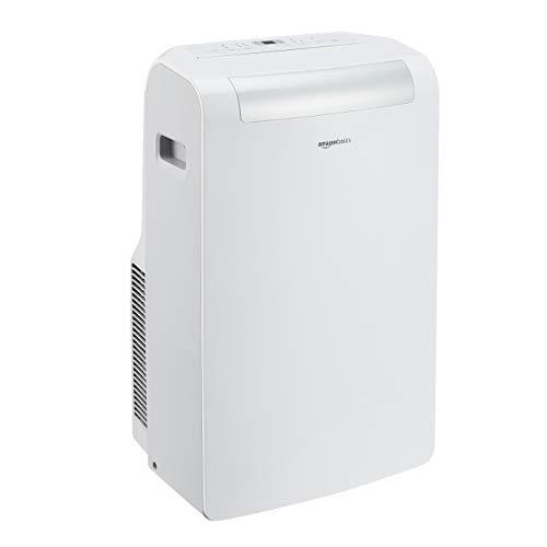 Amazon Basics – Tragbare Klimaanlage mit Luftentfeuchter, 12.000 BTU/h, Energieeffizienzklasse A