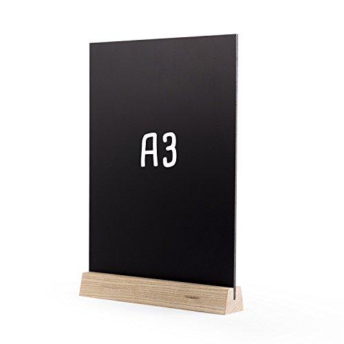 Tableau noir de table Premium (A3) 300 x 440 mm