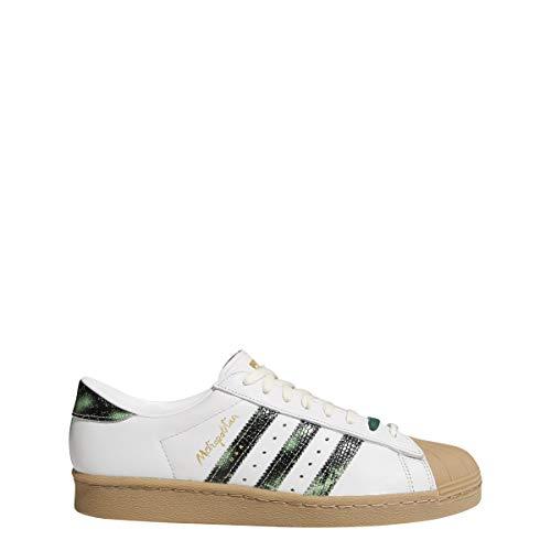 adidas Zapatillas Superstar 80S X Metropolitan para hombre, color blanco, talla 42, Hombre, EH1628, Blanco, 42 UE