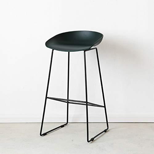 Tuqia Nordic Modern Minimalistisch meubel met hoge poten rood/wit nonchalant bar stoel statafel stoel smeedijzeren kruk woonkamermeubels stoelen