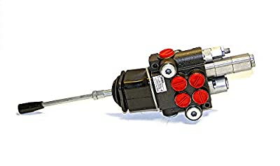 Chief P80 G Series Directional Control Valve: 2 Spool, 4 Way 3 Position Spring Center, 21 GPM, 3625 PSI, SAE #10 Inlet and #12 Outlet, SAE #10 Work Ports, 1500-3625 PSI Relief Setting, 220905 by Bailey Hydraulics