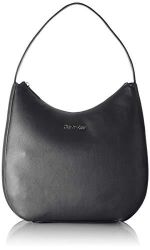Calvin Klein Damen HOBO, Schwarz, 28 Inches, Extra-Large