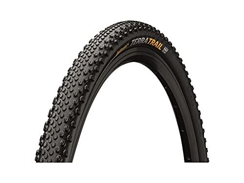 Continental Terra Trail ShieldWall System Cubiertas para Bicicletas, Unisex Adulto, Negro y Crema, 35-622