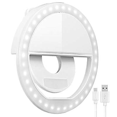 Selfie Ring Light, Oternal Selfie Light Recharg...
