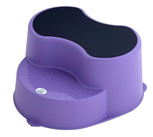 Rotho Babydesign TOP Tabouret Enfant, Surface Antidérapante, TOP, Lavende (Violet), 200050264