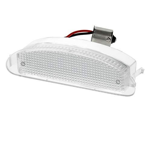 Preisvergleich Produktbild ECD Germany LED Kennzeichenbeleuchtung mit E-Prüfzeichen - 6000K Xenon Weiß - Canbus - Plug & Play - Fehlerfrei - LED Kennzeichenleuchte mit Zulassung Nummernschildbeleuchtung
