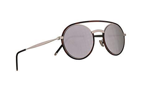 Dior Christian Homme DiorSynthesis01 Sonnenbrillen Havana Silber Mit Silbernen Verspiegelten Gläsern 51mm 45Z0T Synthesis01 Synthesis 01 Synthesis01/S DiorSynthesis01/S