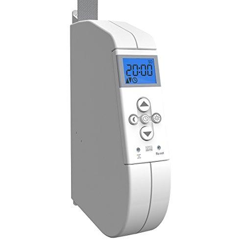 WIR elektronik, eWickler Comfort, eW920-m, elektrischer Gurtwickler, Display, für 15mm Gurtband, Aufputz, bis 45Kg, Fahrtzeiten einstellbar, inkl. Netzstecker