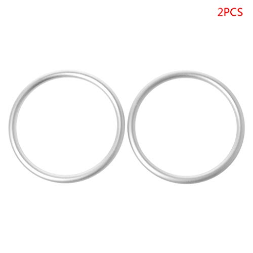 ZOOMY 2Pcs / Set Babytragen Ring Sling Neugeborene Wickelzubehör - Silber