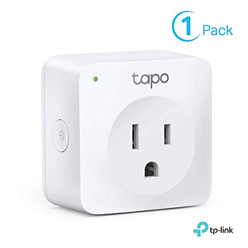 TP-Link Tapo Smart Plug Mini, Smart Home Wifi Outlet Works with Alexa Echo & Google Home, No Hub...