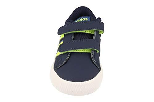 adidas Daily Team Inf, Zapatillas Unisex bebé, Blanco (Ftwbla/Rosimp/Azuene), 23 EU