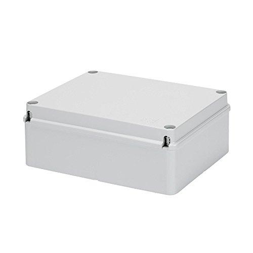 Gewiss GW44208 De plástico caja de conexión eléctrica - Cuadro eléctrico (Gris, 240 mm, 90 mm, 190 mm)