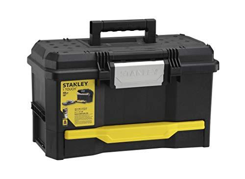 Stanley Werkzeugkiste leer aus Kunststoff 1-70-316 / Werkzeugkoffer mit integrierter Schublade für Kleinteile / Maße: 48.1 x 27.9 x 28.7 cm - 9