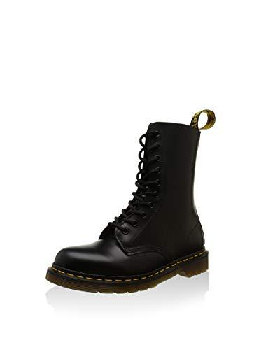 Dr. Martens Dr. Martens 1490 Smooth 59 Last BLACK, Unisex-Erwachsene Combat Boots, Schwarz (Black), 36 EU (3 Erwachsene UK)