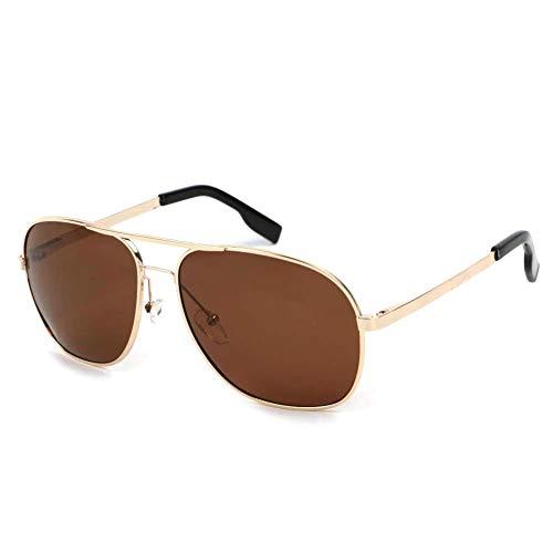 Eye Wear Lunettes Polarisantes GiveUp avec monture dorée - Mixte