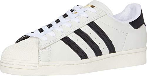 adidas Skateboarding Superstar Footwear White/Core Black/Gold Metallic 8.5