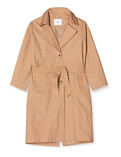 Marca Amazon - find. Gabardina Larga Oversize para Mujer