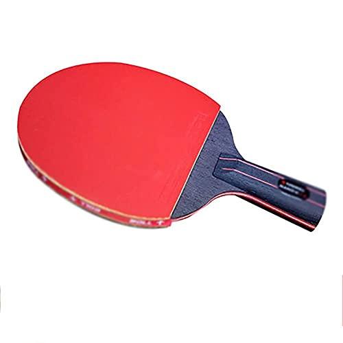 JIANGCJ bajo Precio. Ping Pong Paddle Set 1 Ping Pong Paddles | Bolsa de Almacenamiento Conveniente | 8 Bolas de ABS de Nivel de Torneo | Conjunto de Tenis de Mesa Completa | Velocidad avanzad