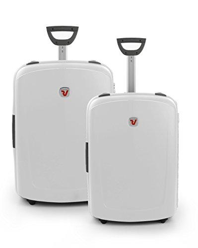 Roncato New Shuttle Set di valigie, 80 cm, 140 litri, Perla