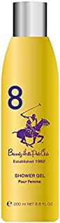 Beverly Hills Polo Club Body Wash for Women, No 8, 200ml
