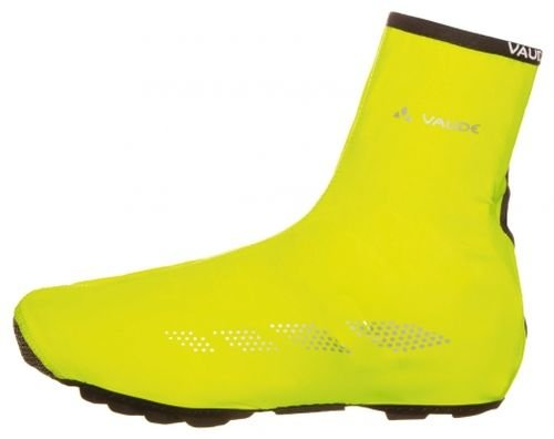 VAUDE Shoecover Wet Light III Guêtres Mixte Adulte, Neon Yellow, FR (Taille Fabricant : XL)