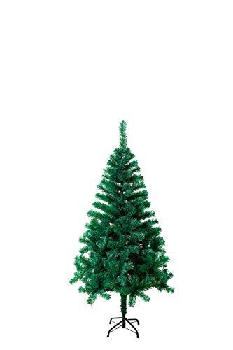 SAILUN 180 cm Albero di Natale Artificiale Albero di Natale con Supporto in Metallo, a pochi Minuti di Montaggio rapido con Sistema di Piegatura (180cm, PVC Verde)