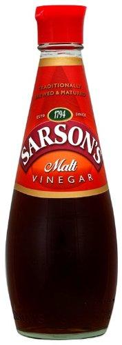 Sarson's Malt Vinegar 250ml (Packung 12)