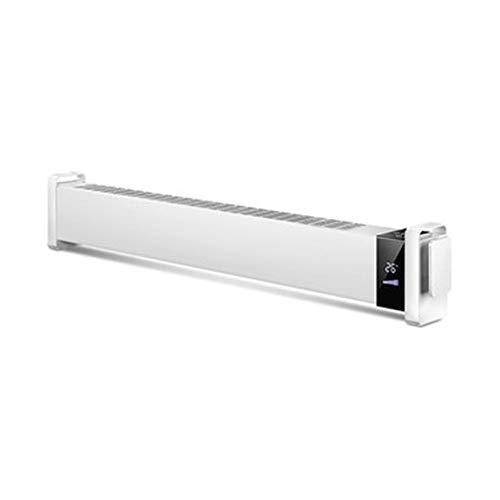 ZXMDP Elektrische radiator, convector, laag profiel, thermostaat, digitale timer voor huis/conservering, radiator met vorst, afstandsbediening
