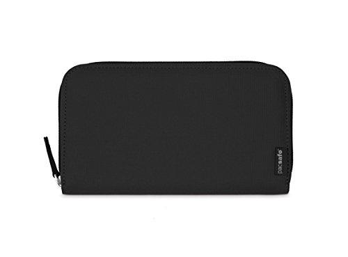 Pacsafe RFIDsafe LX250Diebstahlschutz RFID-blockierender Reißverschluss Travel Wallet, schwarz (schwarz) - PAC10755_1_Noir/100