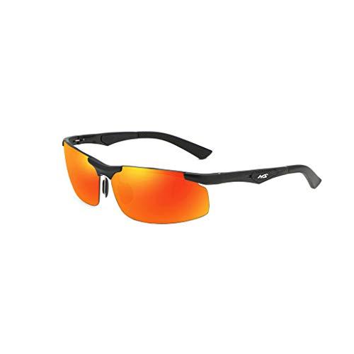 wkwk Gafas de Sol,Gafas de Sol polarizadas con magnesio Tendencia de Moda de Medio Cuadro para Hombres Gafas de conducción para Conductores,Compre uno y llévese Otro Gratis.