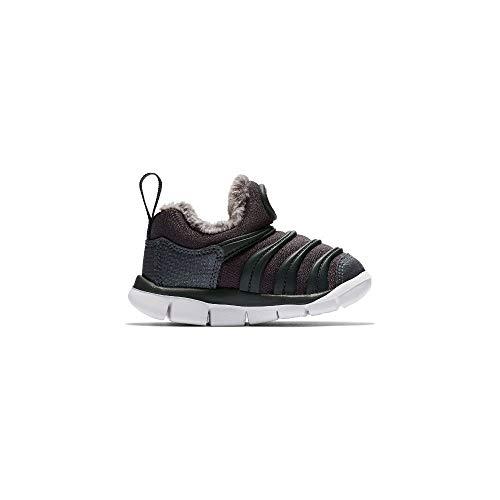 Nike Dynamo Free Se (TD), Zapatillas de Estar por casa Unisex niños, Multicolor (Anthracite/Anthracite/White 002), 22 EU