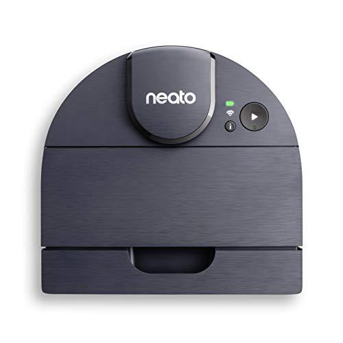Neato D8 Intelligent Robot Vacuum - LIDAR Laser Navigation, Wi-Fi Connectivity, Ideal for Corners, Pet Hair, Carpets & Hard Floors