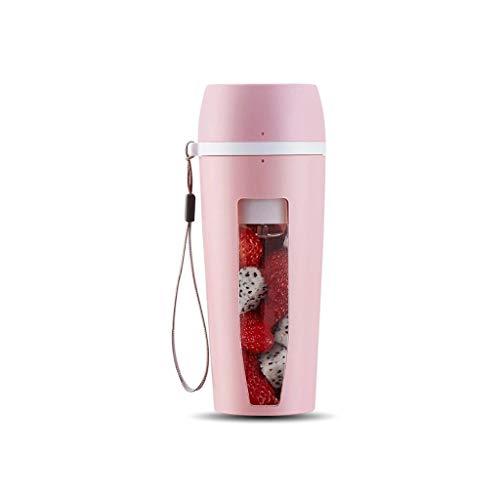 YWSZJ Exprimidor eléctrico portátil con la Taza de Frutas Recargable 2 Cuchillas de la licuadora Máquina Frutas Mezclador