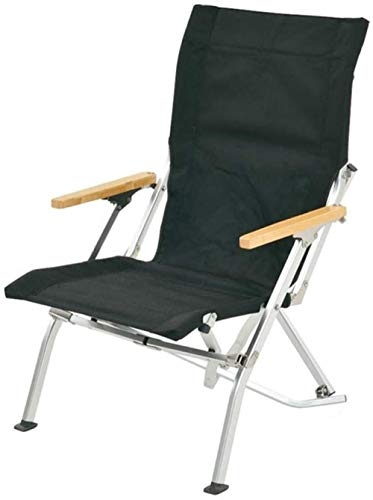 YYZZ Outdoors Folding Chair - Bar Height Director Chair for Camping Home Patio and Sports - Portable and Collapsible with Footrest and Carrying Bag - Up to 300 lbs Weight Capacity-C