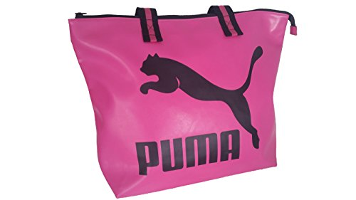 PUMA Damen Sporttasche Sport Tasche Henkeltasche Shopper Reisetasche pink