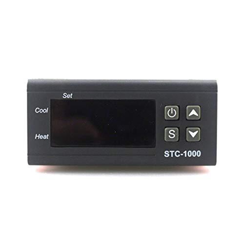 Morninganswer 12V STC-1000 termostato Digital incubadora Controlador de Temperatura Dos Salidas de relé LED 110V 220V 12V 24V 10A Calor frío
