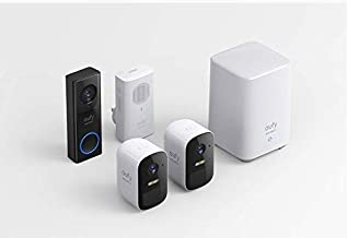 $355 » eufy Security, eufyCam 2C 2-Cam Kit, Wireless Home Security System with 180-Day Battery Life, 1080p HD, IP67, Night Vision...