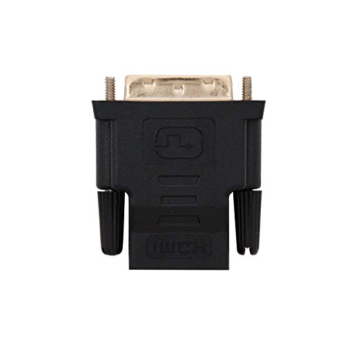 NanoCable 10.15.0700 - Adaptador DVI a HDMI, macho-hembra, 24+1/M-HDMI A/H, negro