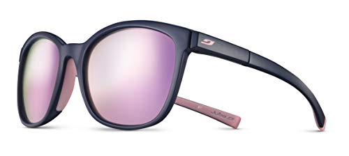 Julbo Spark Performance Sunglasses, Gray Tortoiseshell/Gray Frame - Spectron Smoke Lens w/Multilayer Pink Mirror