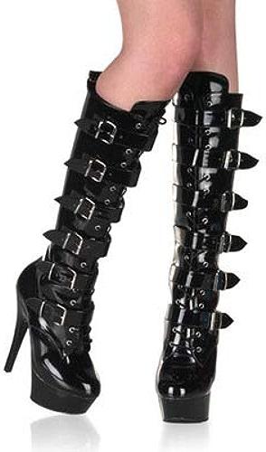 Des Talons DE 15 cm de Haut, Boîte de Nuit, Les Bottes pour Dames, modèle de Chaussures,Trente - Six,blanc