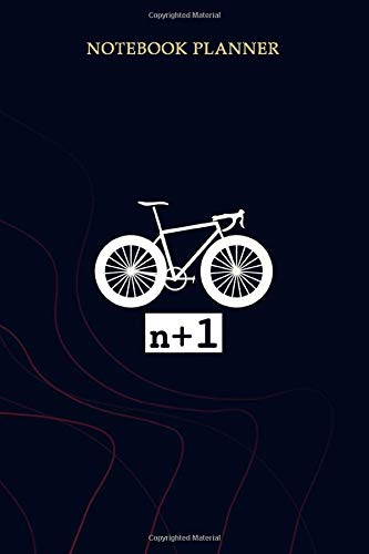 Notebook Planner n 1 The Rules Bicycle: Planning, Mom, Simple, Gym, Planner, 114 Pages, 6x9 inch, To Do List
