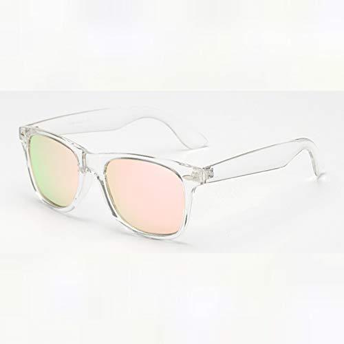 SHEANAON Gafas de Sol Gafas de Sol cuadradas Unisex Gafas de Sol polarizadas para Mujeres Hombres
