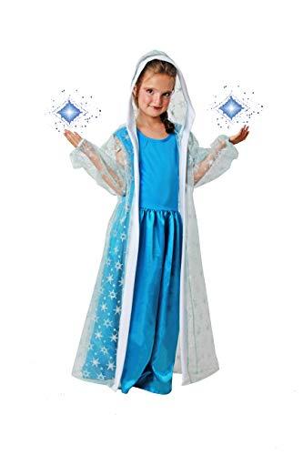 Costumizate! Disfraz de Maga de Hielo Talla 5-6 Especial para Navidad