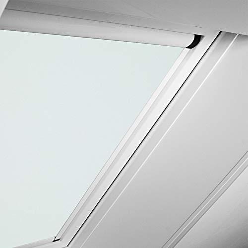 Roto Original Verdunkelungsrollo ZRVM für 734/735/738, Fenstergröße 7/11 in der Stofffarbe 1-V01/weiß, WDF KAW KEW Rollo Rollos