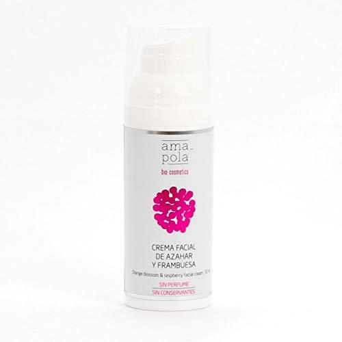 Amapola Bio Crema Facial De Azahar Y Frambuesa 50 ml