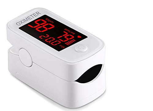 FINGERTIP Ossimentro YM101 Misuratore Saturazione ossigeno nel sangue (%SP02) e battiti al minuto!