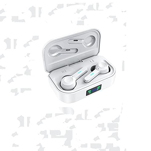HBNW Auriculares Internos Inalámbricos, Auricular Bluetooth 5.0, con Función Impermeable Ipx6 Y Reducción Activa De Ruido (ANC), Adecuado para Varios Modelos de teléfonos móviles